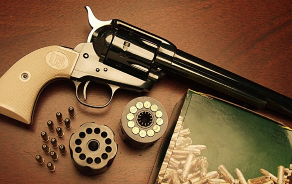 US Firearms 12/22 12-Shot 22 Single-Action Revolver