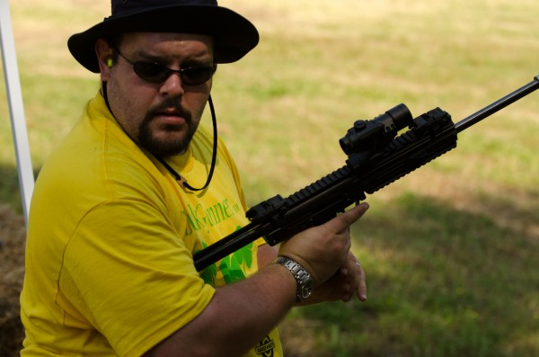 Chris Maynard with the Kel-Tec PMR-30 Rifle