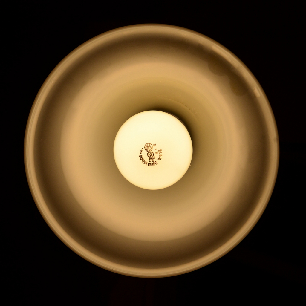 60 Watt Bulb in a Floor Lamp