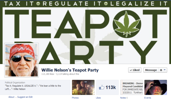 Willie Nelson's Teapot Party