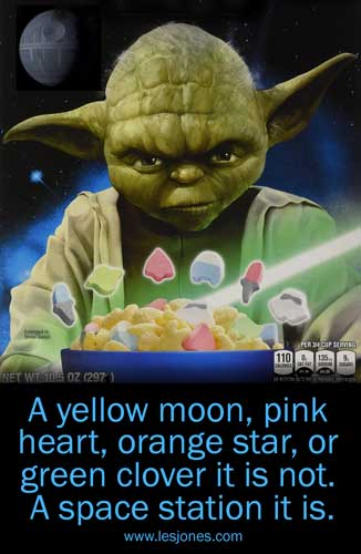 Yoda and Lucky Charms