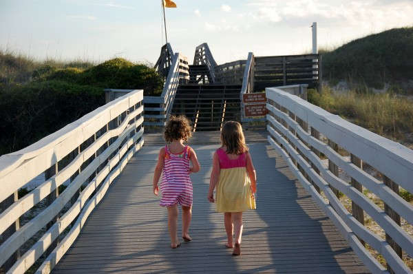 Natalie and Katie, St. Andrews State Park, Panama City Beach