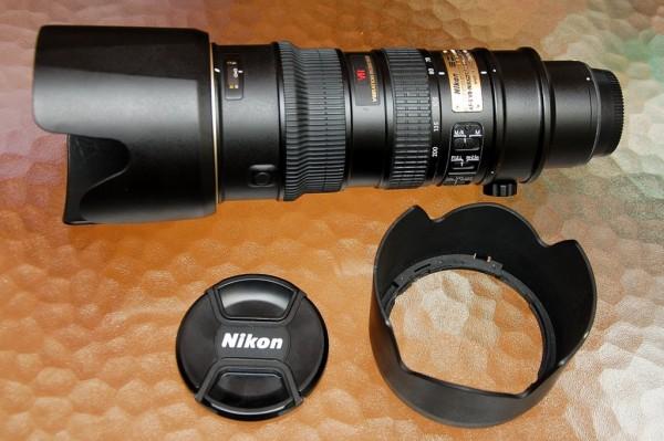 Nikon 70-200mm F2.8 AF-S VR