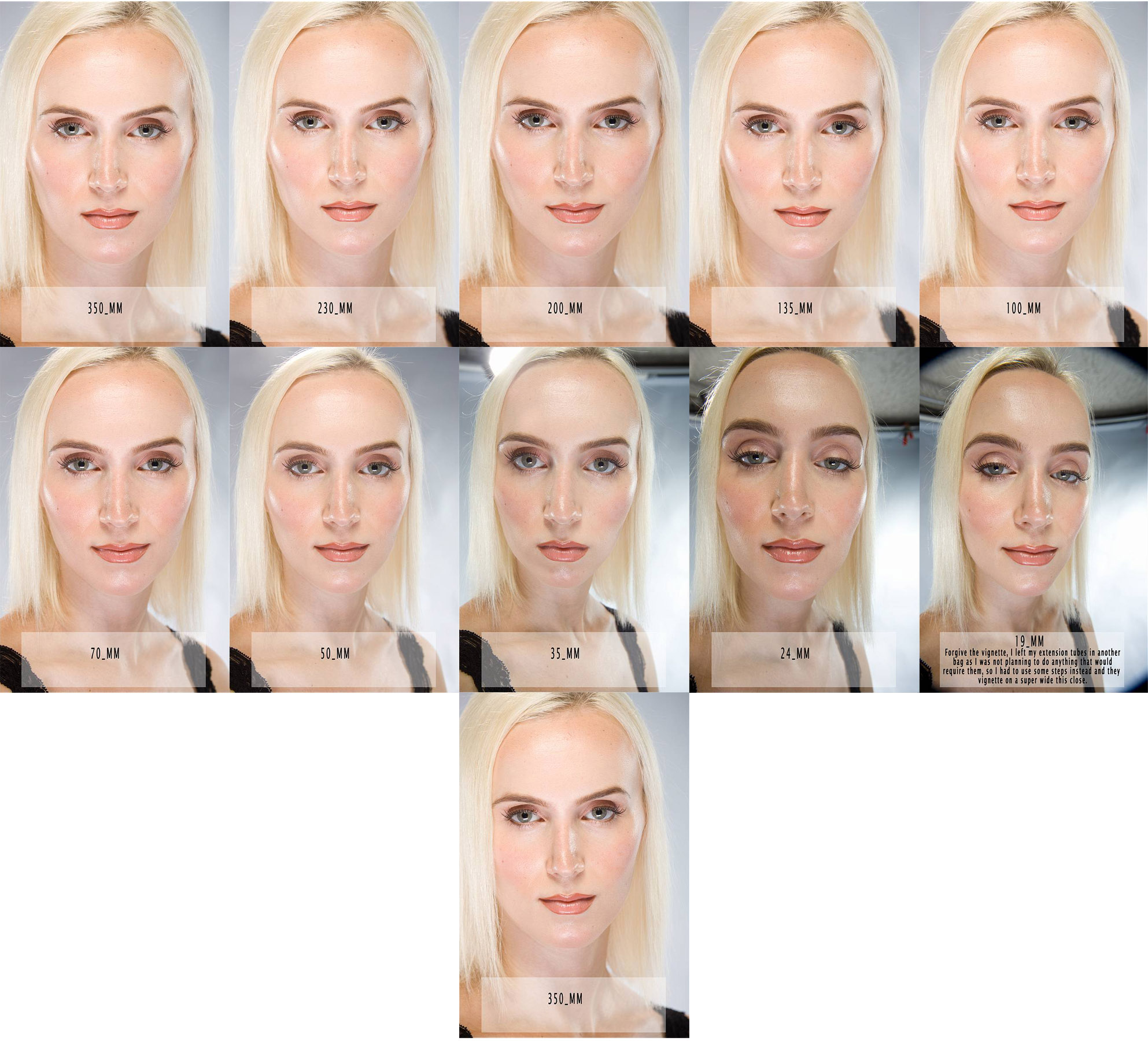 Effect of Lens Focal Length on Portraits